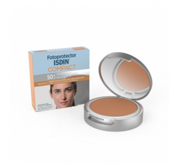 Isdin Fotoprotector Foto Compacto fps 50+ Color Bronce 50