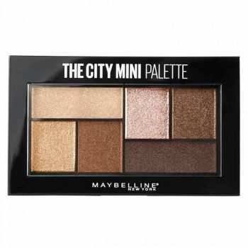 Maybelline  Sombra Para Ojos The City Mini Palette Rooftop Bronzes x 4gr