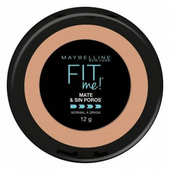 Maybelline Polvo Compacto Fit Me Mate y Sin Poros 230 Natural Buff x 12gr